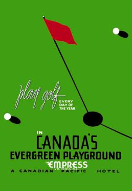 Play Golf in Canada's Evergreen Playground