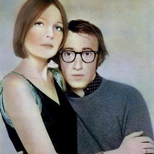 PLAY IT AGA SAM, 1972 directed by Woody Allen Diane Keaton and Woody Allen (photo)