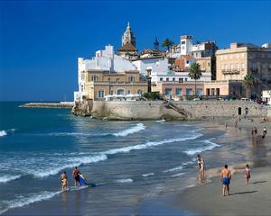 Playa San Sebastian Sitges Spain