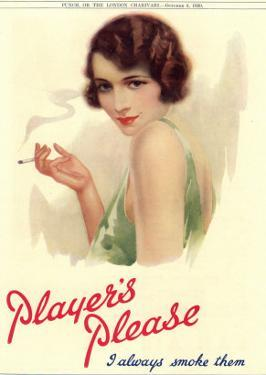 Player's Navy Cut, Cigarettes Smoking, UK, 1930