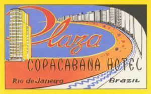 Plaza Copacaban Hotel, Rio de Janeiro