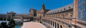 Plaza Espana Seville Andalucia Spain