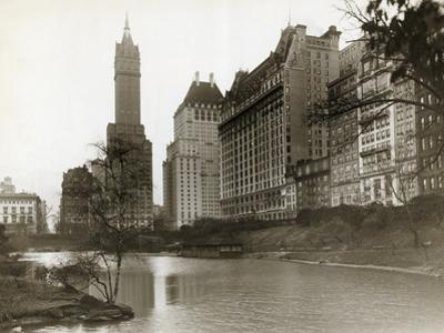 Plaza Hotel as Seen from Central Park