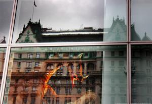 Plaza Hotel Reflection