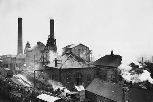 Pleasley Colliery in Derbyshire
