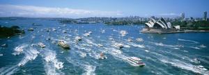 Pleasure Boats, Sydney Harbor, Australia