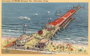 Pleasure Pier, Galveston, Texas