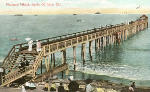 Pleasure Wharf, Santa Barbara, California