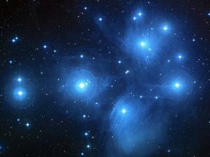 Pleiades Star Cluster (M45)
