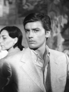 Plein Soleil PURPLE NOON by Rene Clement with Alain Delon, 1960 (b/w photo)