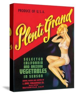 Plenti Grand Vegetables