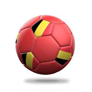 Belgium Soccer Ball by pling