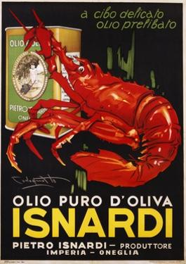 Isnardi Poster by Plinio Codagnatto