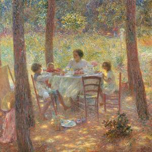 Noon by Plinio Nomellini