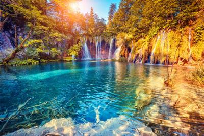 Plitvice Lakes Natl. Park Croatia