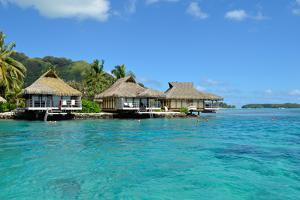 Luxury Thatched Roof Honeymoon Bungalows by pljvv