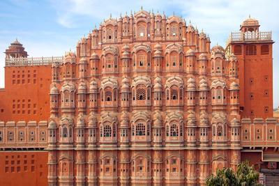 Hawa Mahal- Palace of Winds, Jaipur, India.