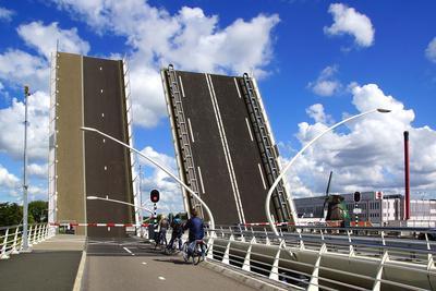 Juliana Bridge. Zaandijk, Holland.