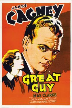 """Pluck of the Irish, 1936, """"Great Guy"""" Directed by John G. Blystone"""