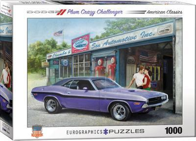 Plum Crazy Challenger by Greg Giordano 1000 Piece Puzzle