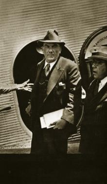 Plutarco Elias Calles Being Sent into Exile in the United States by Lazaro Cardenas, 9th April 1936
