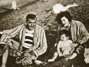 Plutarco Elias Calles with His Family