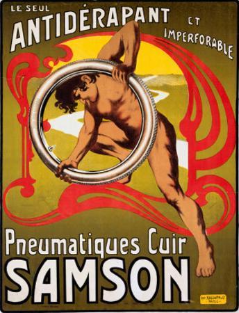 Pneumatiques Cuir Samson, c.1910