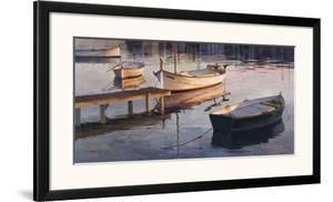 Barques al Port by Poch Romeu