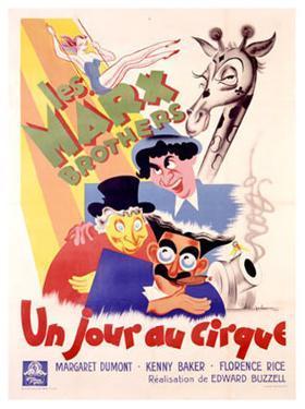 Marx Brothers, Jour au Cirque by Poissonnie