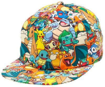 Pokemon - AOP Sublimated Cap