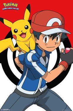 Pokemon- Ash & Pikachu Best Buds