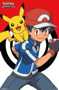 Pokemon- Ash & Pikachu Best Buds