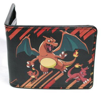 Pokemon - Charmander Evolution Leather Wallet