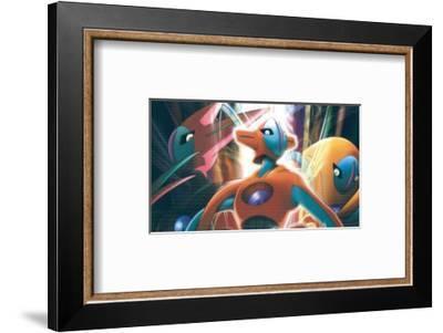 Pokemon: Destiny Deoxys--Framed Masterprint