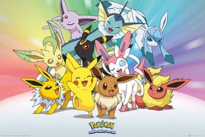 Pokemon- Eevee-Lutions