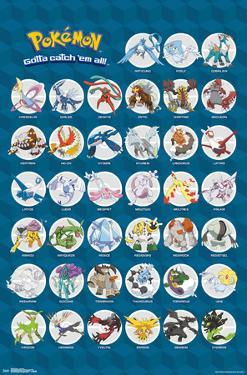 Pokemon- Gotta Catch All The Legendary