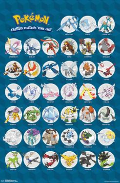 Pokemon- Gotta Catch All The Legendary