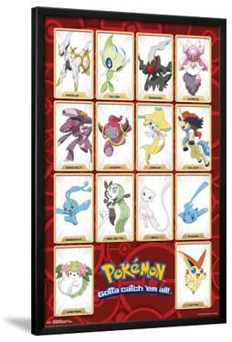 Pokemon- Gottah Catch All The Mythical