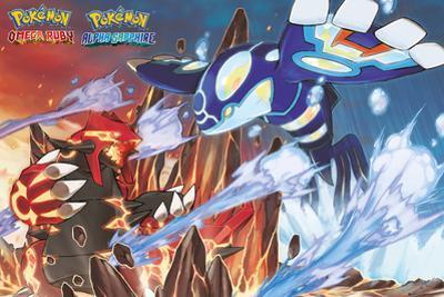 Pokemon- Groudon & Kyogre