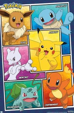 Pokémon - Group Collage