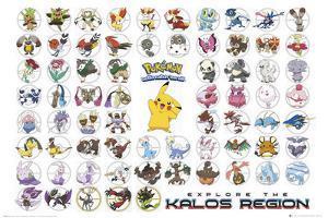 Pokemon- Kalos Region
