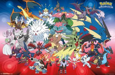 Pokemon- Mega Evolutions