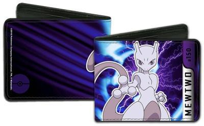 Pokemon Mewtwo Charged Pose Wallet