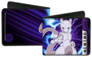 Pokemon Mewtwo Charged Pose Wallet