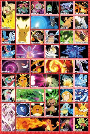 Pokemon- Moves