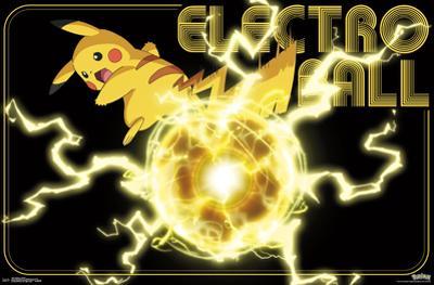 Pokemon- Pikachu Electro Ball