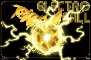 Pokemon- Pikachu Electro Ball