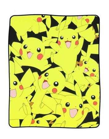 Pokemon Pikachu Fleece Blanket