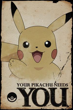 Pokemon- Pikachu Needs You
