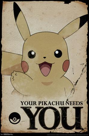 Pokemon- Pikachu Needs You